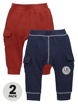 ladybird-baby-boys-loopbacknbspjoggers-with-pockets-2-pack