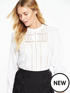 v-by-very-victoriana-high-neck-blouse