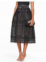 Full Lace Skirt - Black