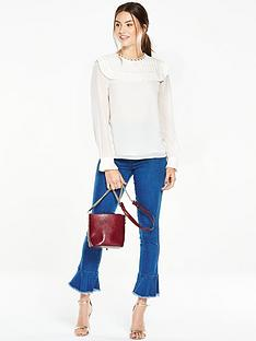 v-by-very-pleated-bib-front-blouse