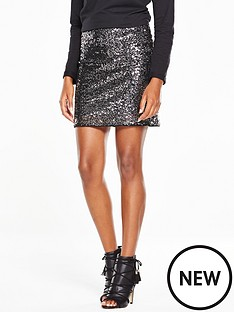 v-by-very-sequin-mini-skirt