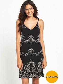 miss-selfridge-embellished-cami-dress-black