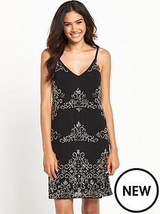 miss-selfridge-miss-selfridge-black-embellished-cami-dress