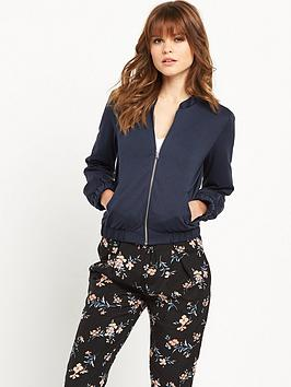 miss-selfridge-luxenbspbomber-jacketnbsp