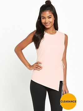 miss-selfridge-asymmetric-tie-waist-tunic-top