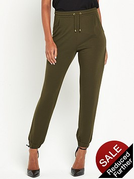 miss-selfridge-cuff-crepe-jogger