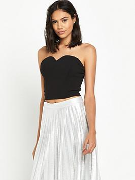 miss-selfridge-crop-corset
