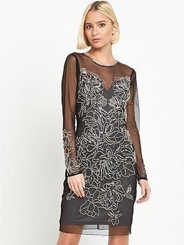 miss-selfridge-mini-kim-long-sleeve-bodycon-dress-black