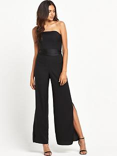 miss-selfridge-satin-bandeau-jumpsuit