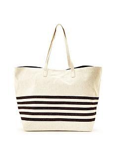 warehouse-stripe-beach-bag