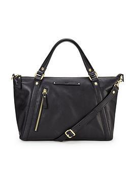 ugg-jenna-leather-satchel-black
