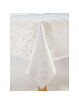 celebration-streamers-oblong-tablecloth-in-whitesilver-52-x-90-inch