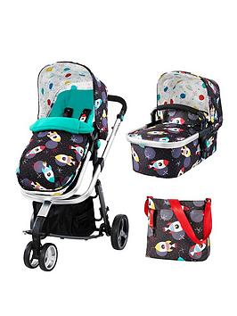 Cosatto Giggle 3 In 1 Pushchair  Space Racers