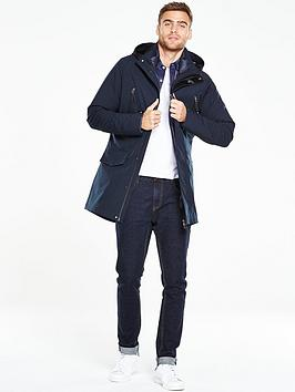 V By Very 3 In 1 Technical Parka Coat