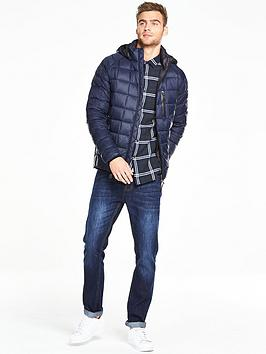 V By Very Padded Down Jacket With Hood