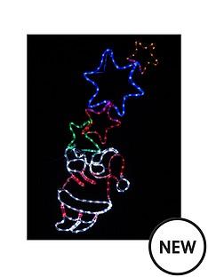 flashing-santa-with-stars-rope-light