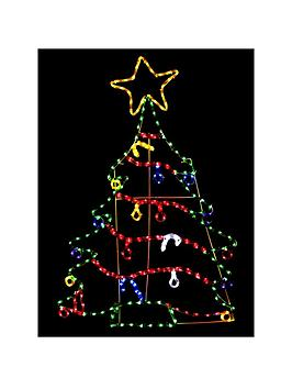 christmas-tree-rope-light-outdoor-decoration