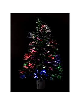 60 Cm Green Fibre Optic Christmas Tree