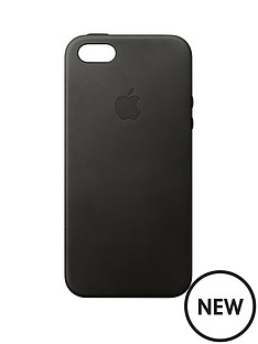 apple-iphone-se-leather-case-black