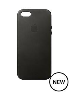 apple-iphone-se-leather-case-black