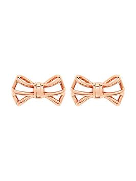 ted-baker-geometric-bow-earrings