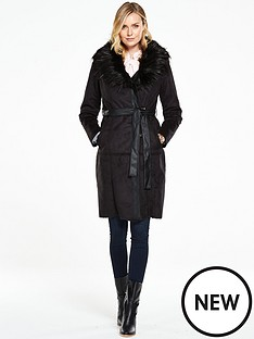 v-by-very-shearling-wrap-coat