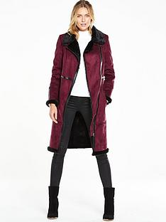 v-by-very-long-fauxnbspshearling-biker-coatnbsp