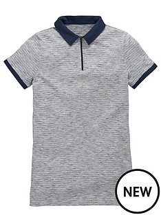 v-by-very-boys-zip-space-dye-polo-shirt