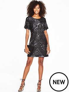 v-by-very-embellished-shift-dress