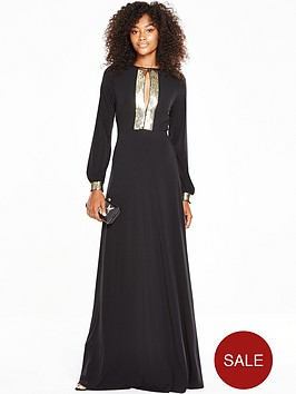 v-by-very-sequin-plunge-backless-maxi