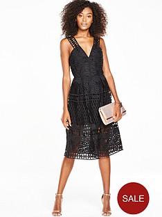 v-by-very-geo-lace-midi-prom-dress