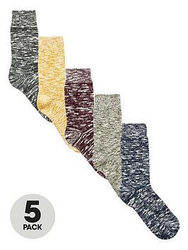 v-by-very-5-pack-slub-socks