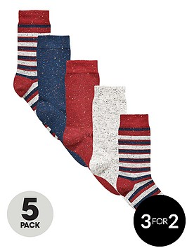 v-by-very-5-pack-nepp-stripe-socks