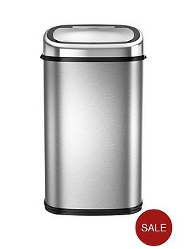 tower-58-litre-square-sensor-bin-stainless-steel
