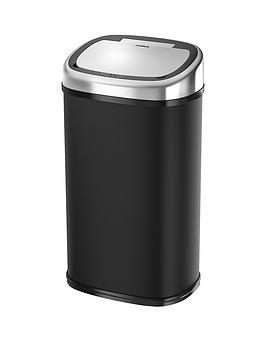 tower-58-litre-square-sensor-bin-in-black