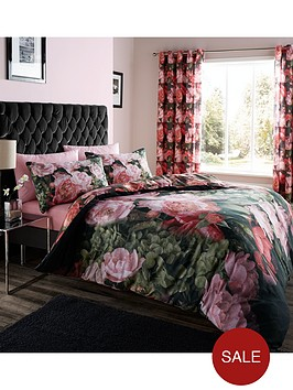 catherine-lansfield-dramatic-floral-duvet-set-multi