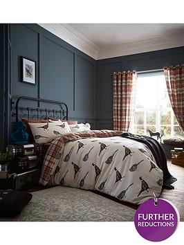 catherine-lansfield-heritage-country-birds-duvet-set-multi