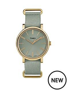 timex-timex-originals-tonal-sage-dial-sage-strap-ladies-watch