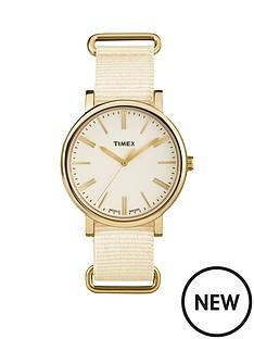 timex-timex-originals-tonal-cream-dial-cream-strap-ladies-watch