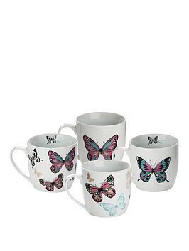 Sabichi Sabichi Mariposa 4 Pc Mug Set Picture