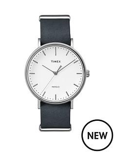 timex-timex-weekender-fairfield-white-dial-black-strap-unisex-watch