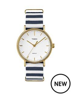 timex-timex-weekender-fairfield-white-dial-blue-amp-white-strap-unisex-watch