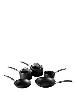 raymond-blanc-by-anolon-5-piece-hard-anodised-pan-set