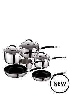 raymond-blanc-by-anolon-raymond-blanc-6-piece-stainless-steel-pan-set