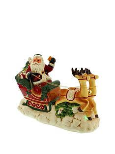 santa-amp-reindeernbspchristmas-decoration