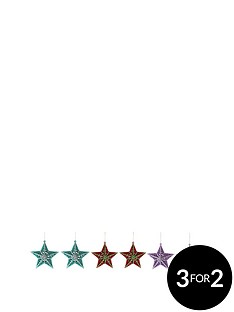 set-of-6-hanging-star-decorations
