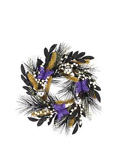 24-inch-purple-and-gold-christmas-wreath