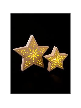 set-of-2-light-up-ceramic-star-ornaments