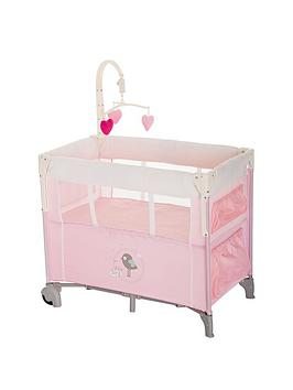 Hauck Dream N Care Travel Cot  Little Birdie