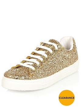 river-island-gold-glitter-lace-up-sport-shoesnbsp